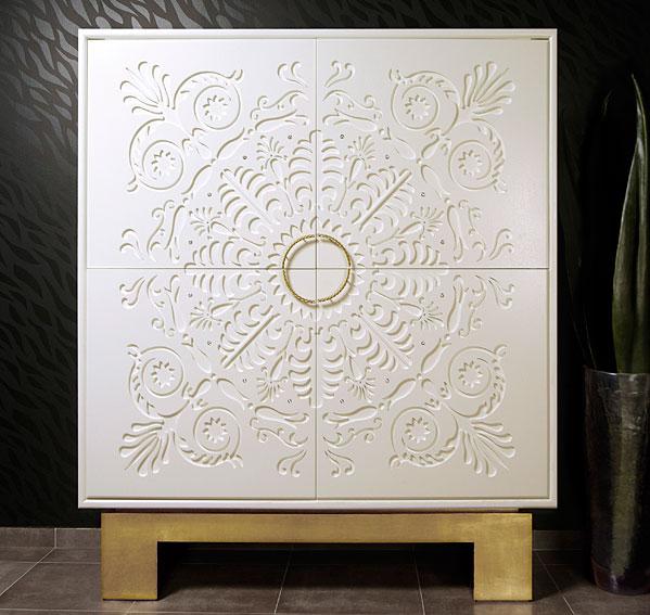 mueble tv vintage alexandra de lujo en portobellodeluxe