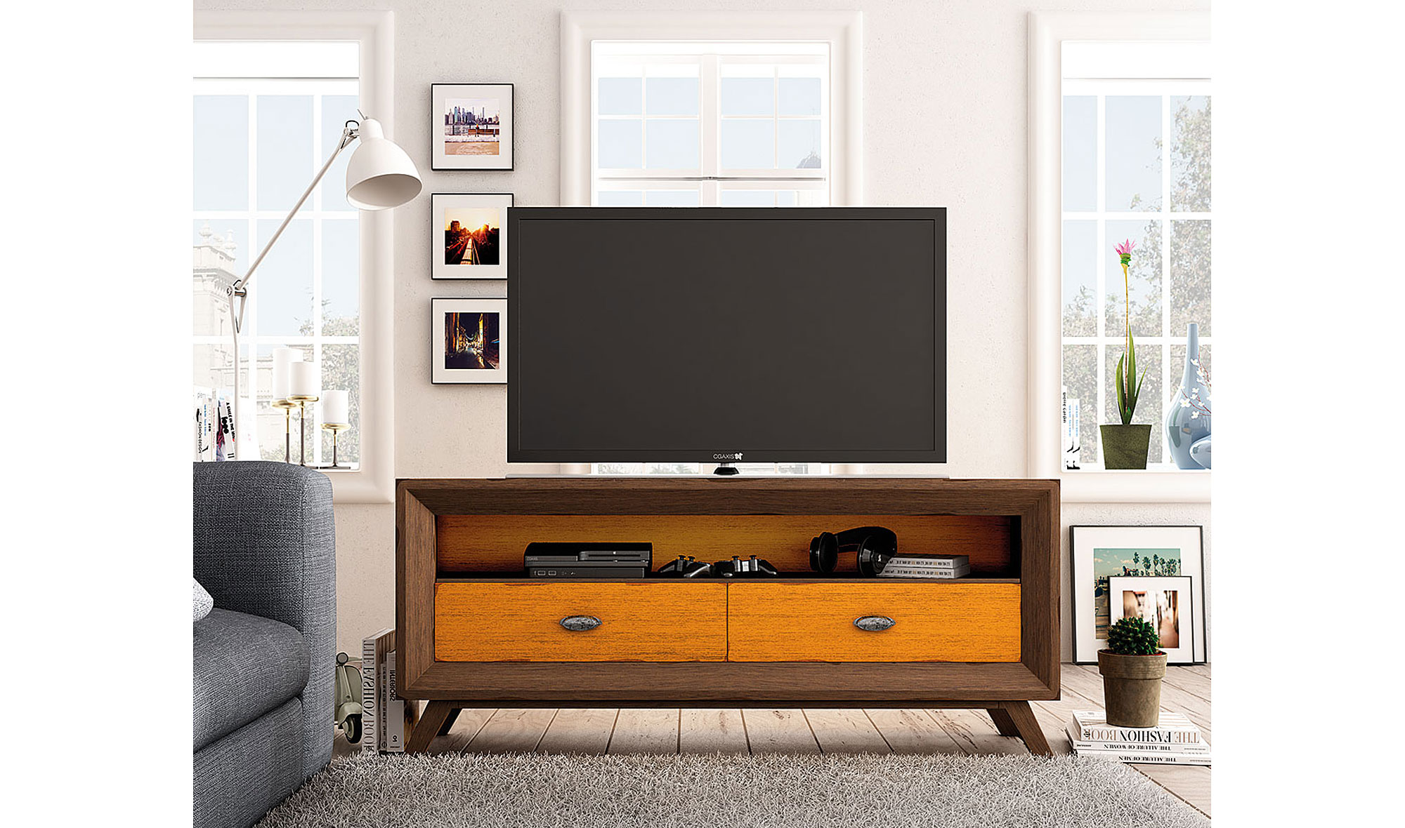 mueble tv vintage juliasi no disponible en
