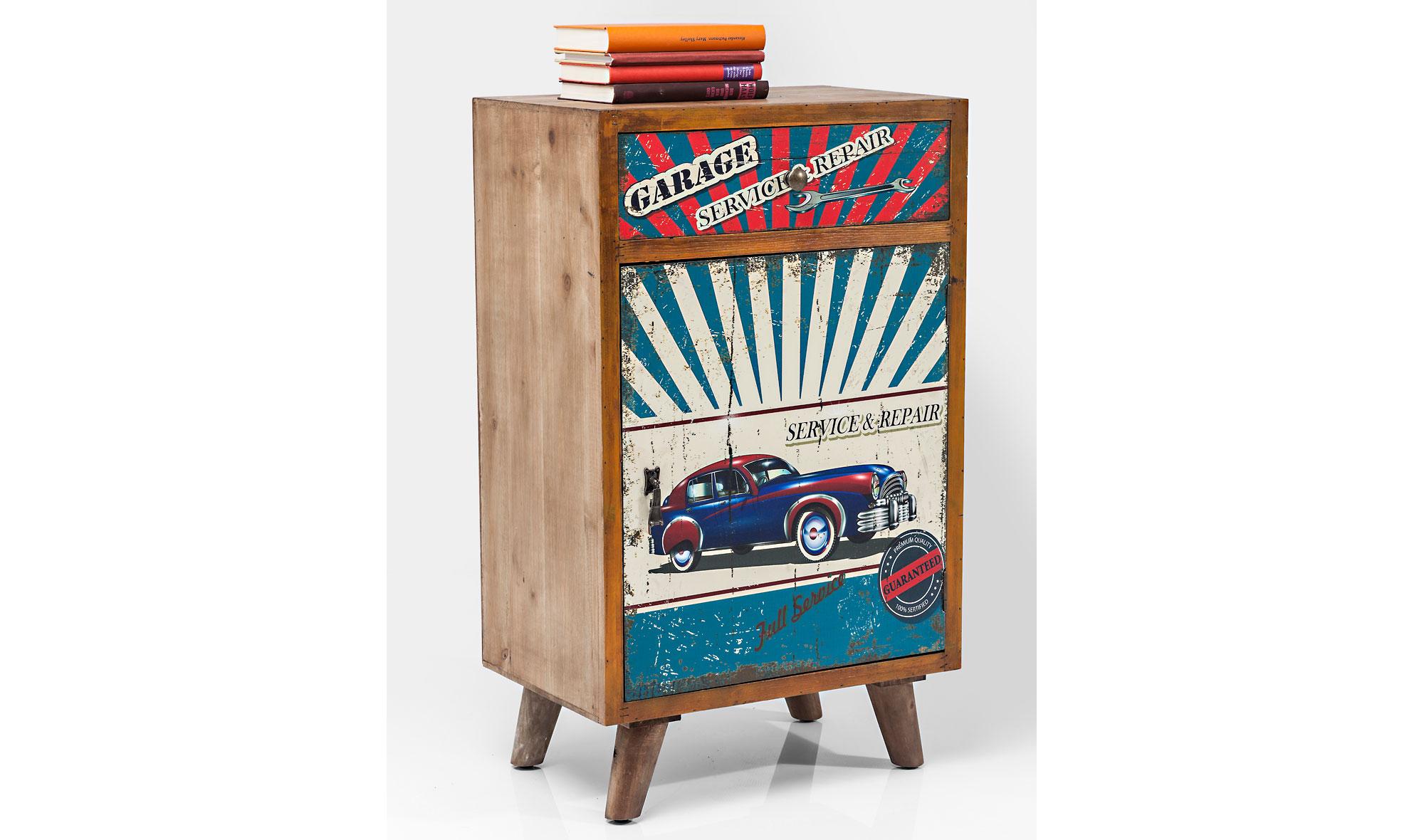 Mueble auxiliar 1 puertas vintage garage no disponible en for Muebles para garage