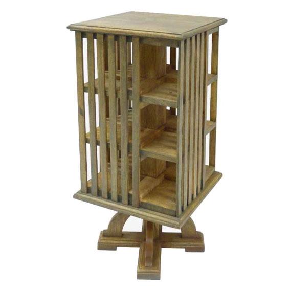 Mueble auxiliar giratorio vintage natural no disponible en - Muebles auxiliares vintage ...