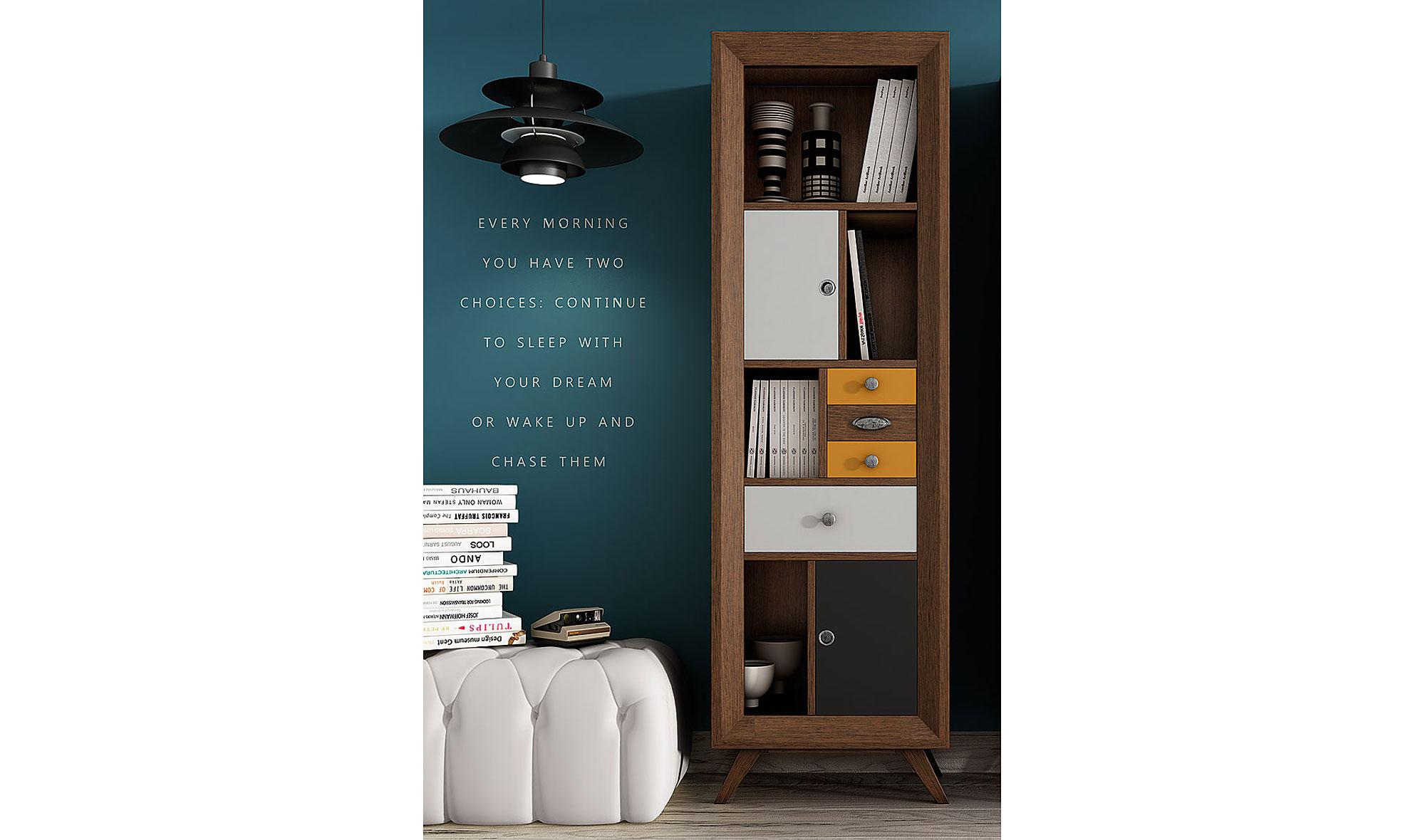 Mueble auxiliar vintage fouer de lujo en portobellodeluxe for Tu muebles catalogo