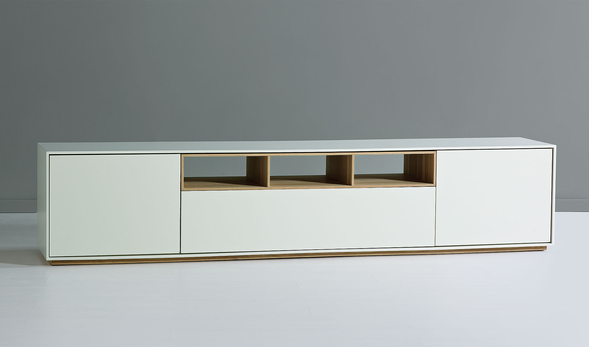 Mueble de tv n rdico namy no disponible en for Mueble auxiliar salon moderno
