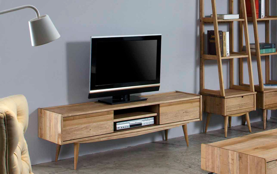 Mueble de tv retro mad men no disponible en for Mueble tv vintage