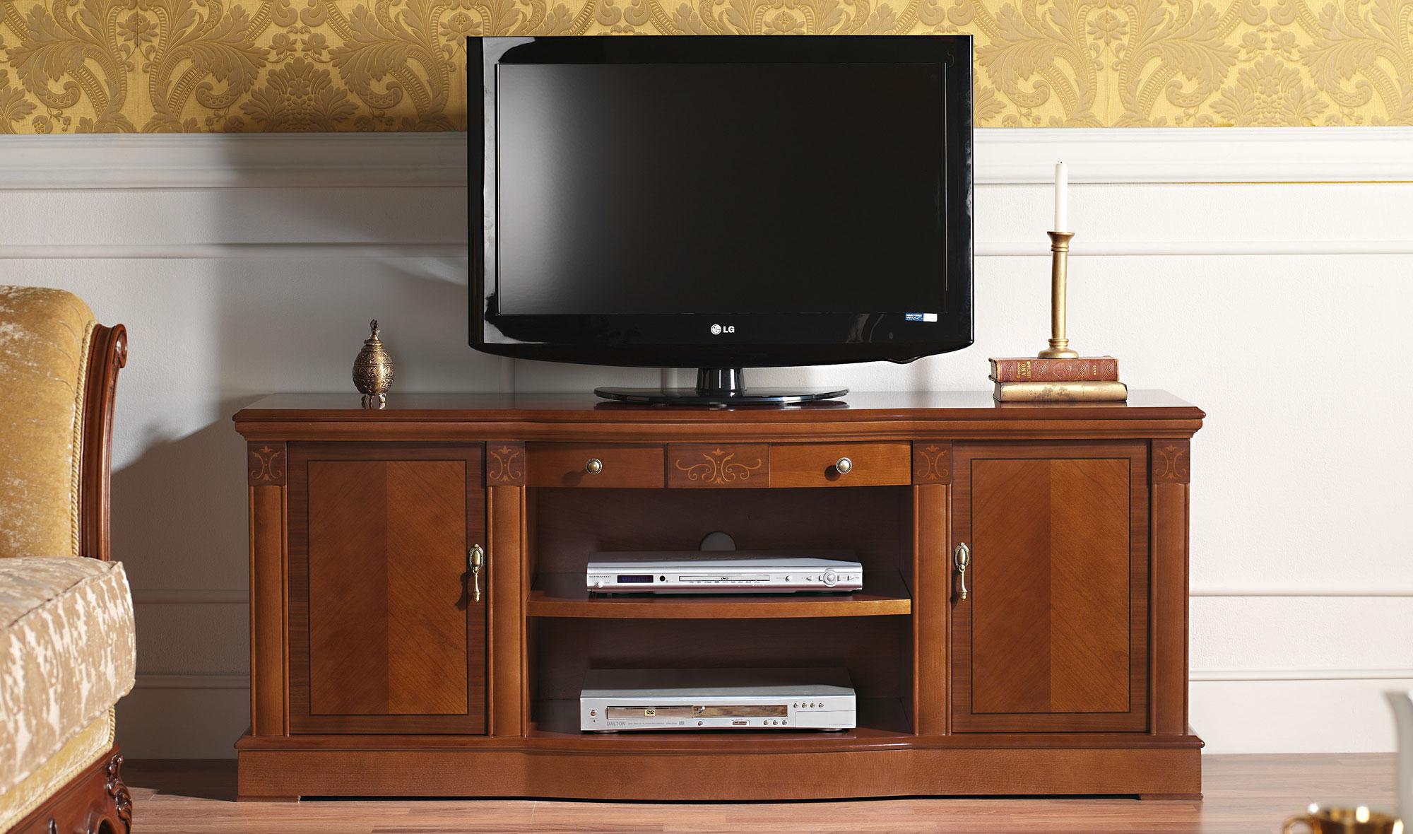 Mueble tv cl sico ivry en for Muebles de cocina clasicos