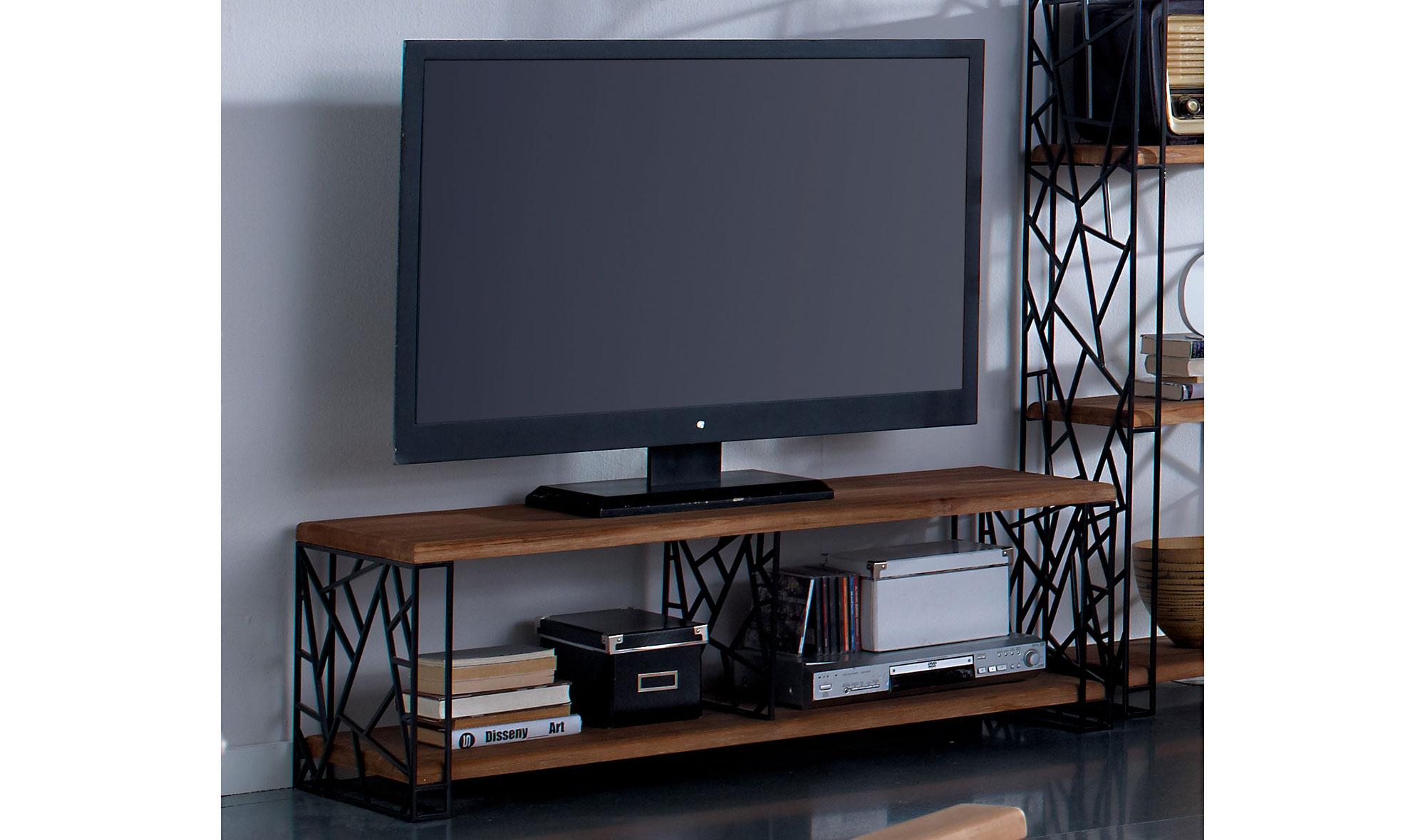 Mueble tv industrial jerry de lujo en for Mueble tv industrial