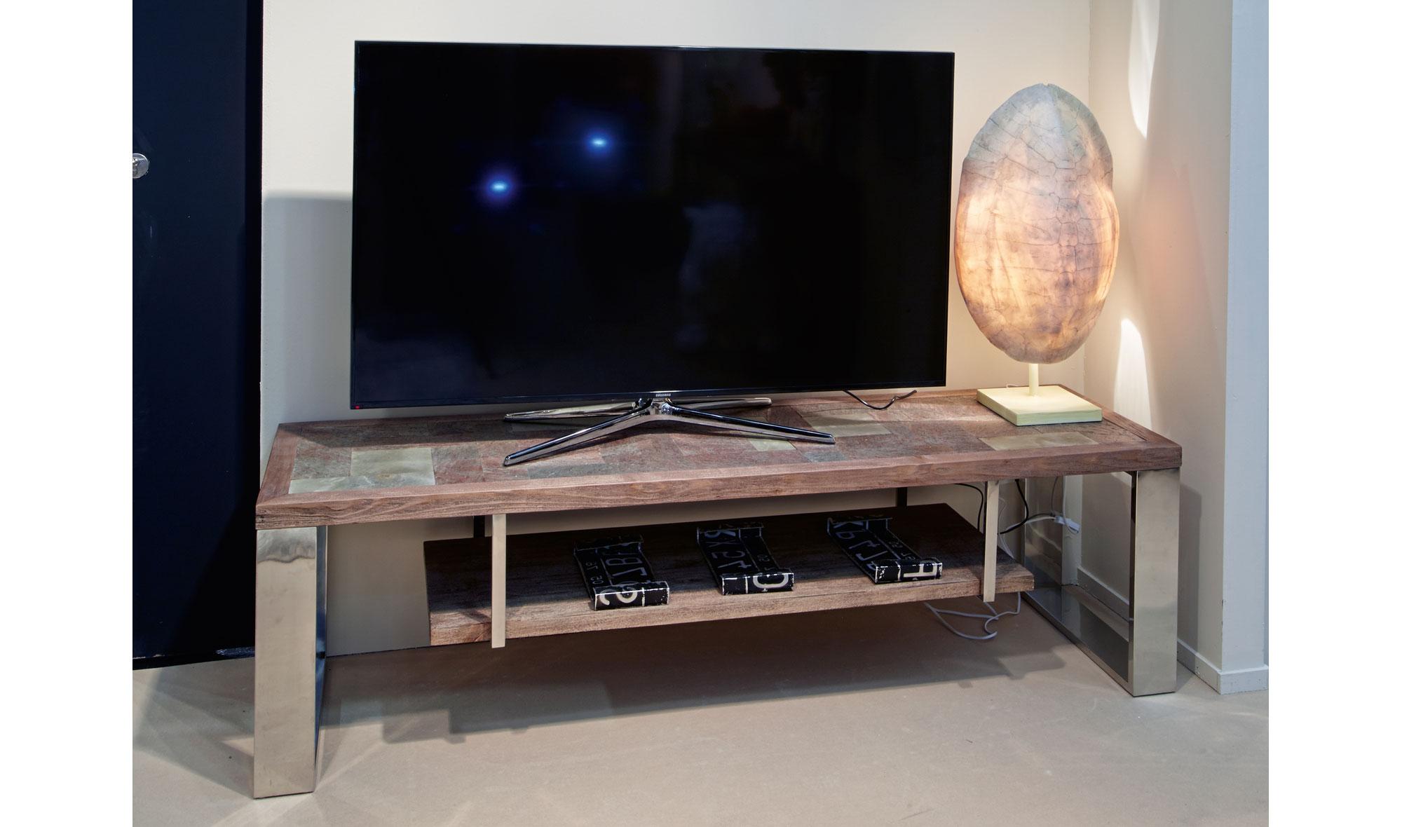 Mueble tv moderno vener de lujo en for Muebles de lujo modernos italianos