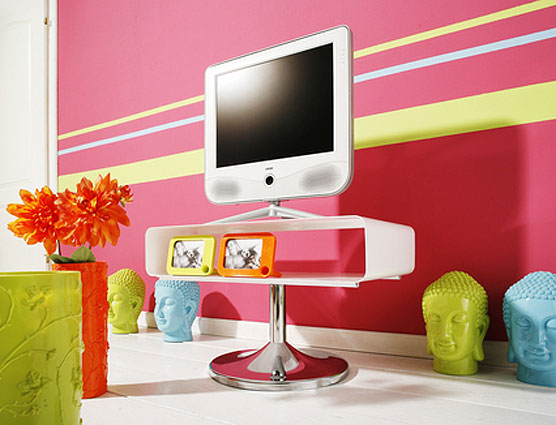 Mueble tv moderno dove design no disponible en - Muebles pop art ...