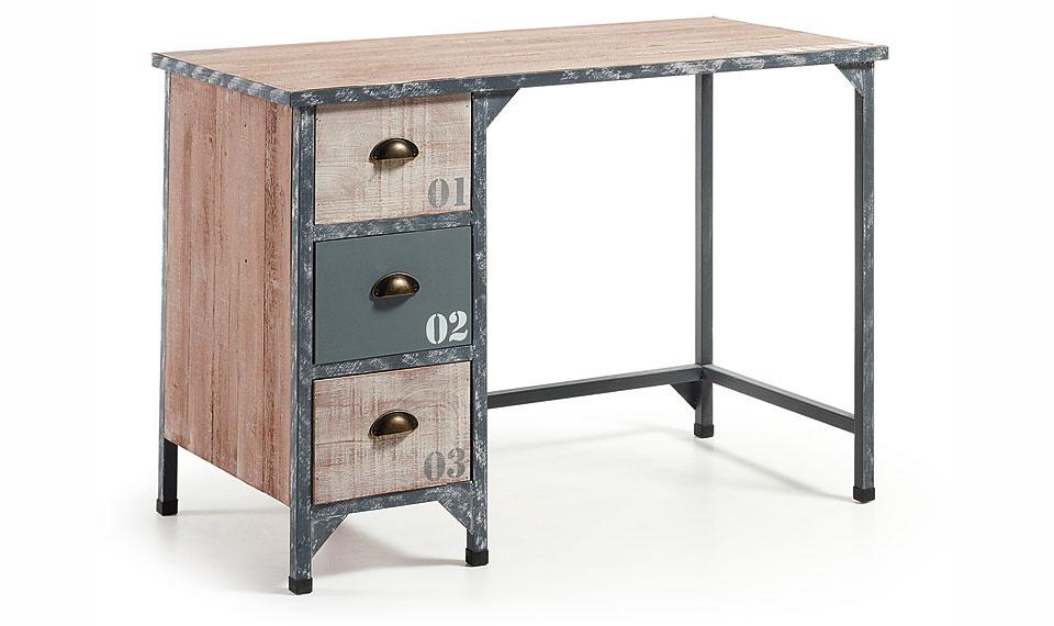 Mesa de escritorio industrial erutna no disponible en - Escritorio vintage segunda mano ...