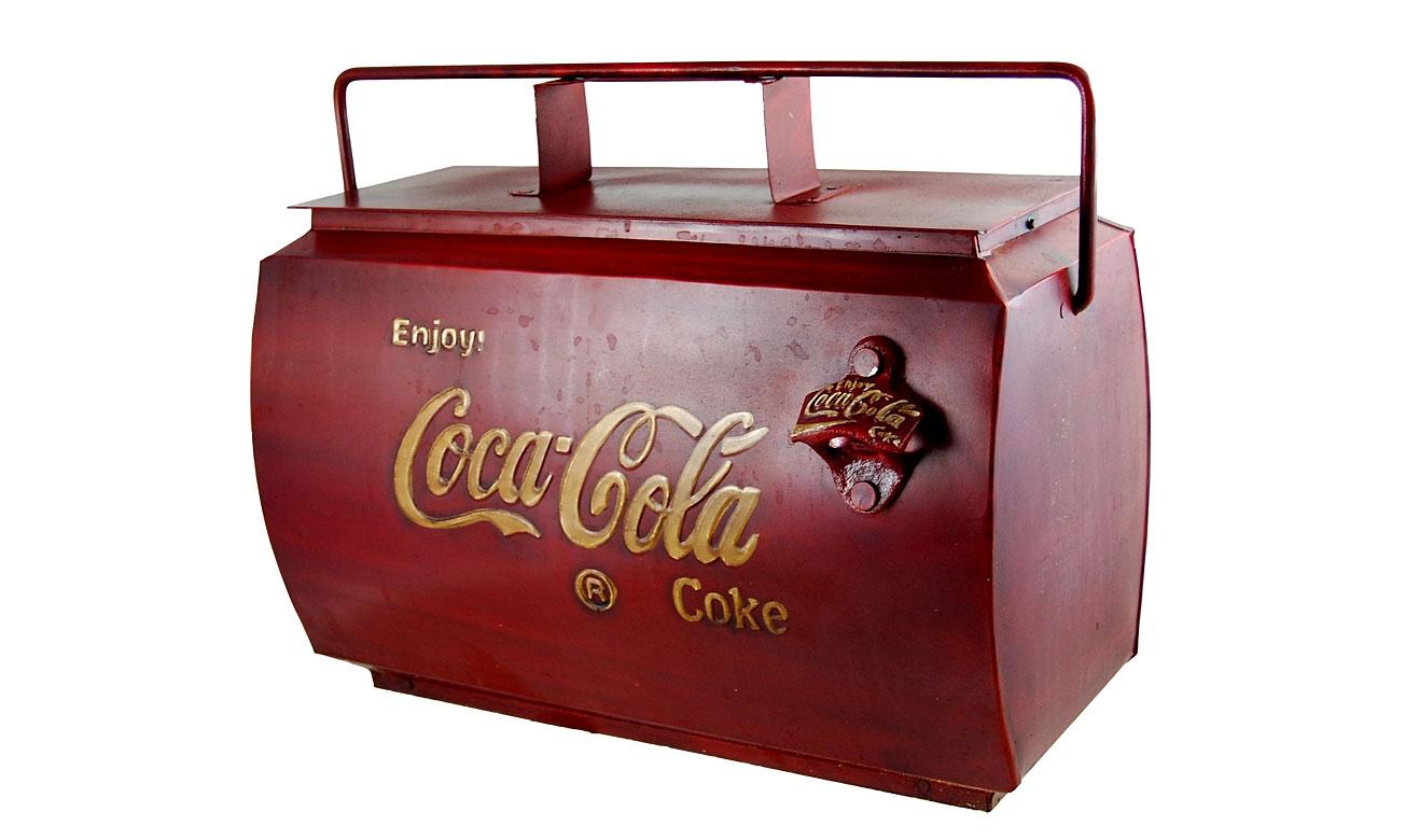 Nevera Vintage Coca Cola No Disponible En Portobellostreet Es