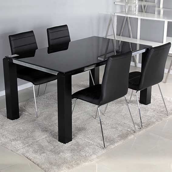 Pack mesa comedor y 4 sillas dioniso no disponible en for Muebles mesa y sillas comedor