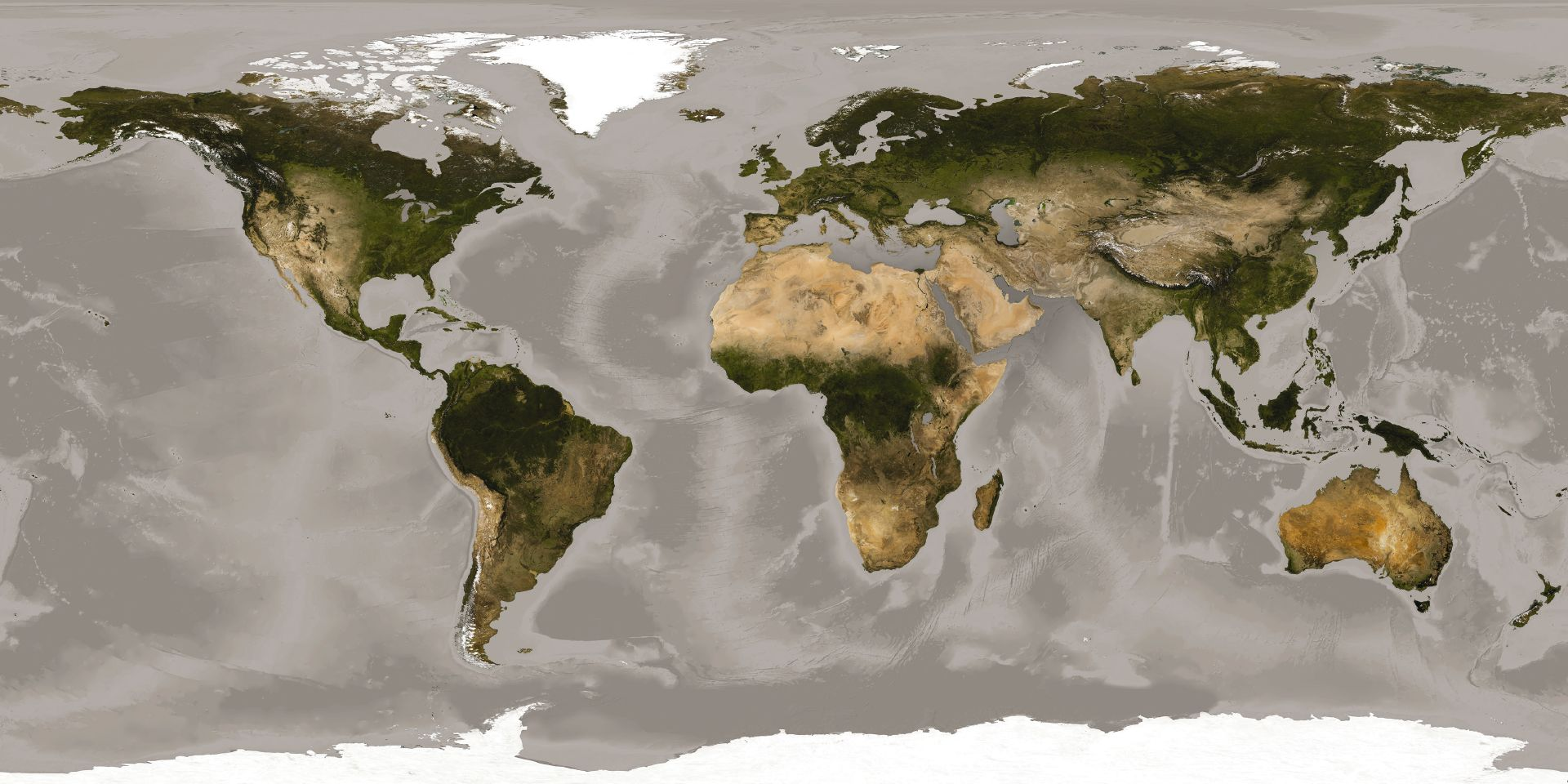 Panel de papel pintado mapamundi en - Papel pintado mapamundi ...