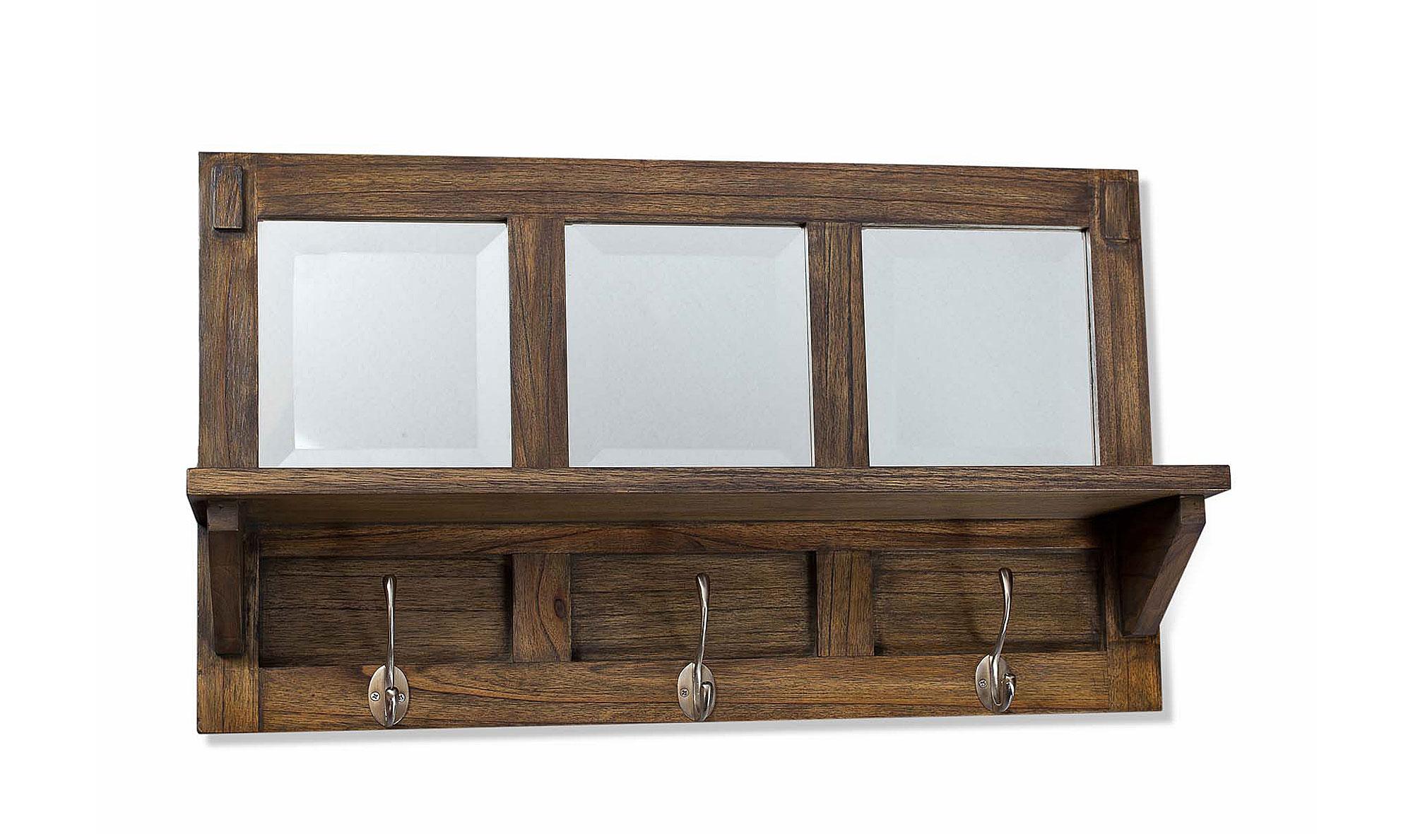 Perchero con espejos cl sico saissac no disponible en for Percheros de pared adhesivos