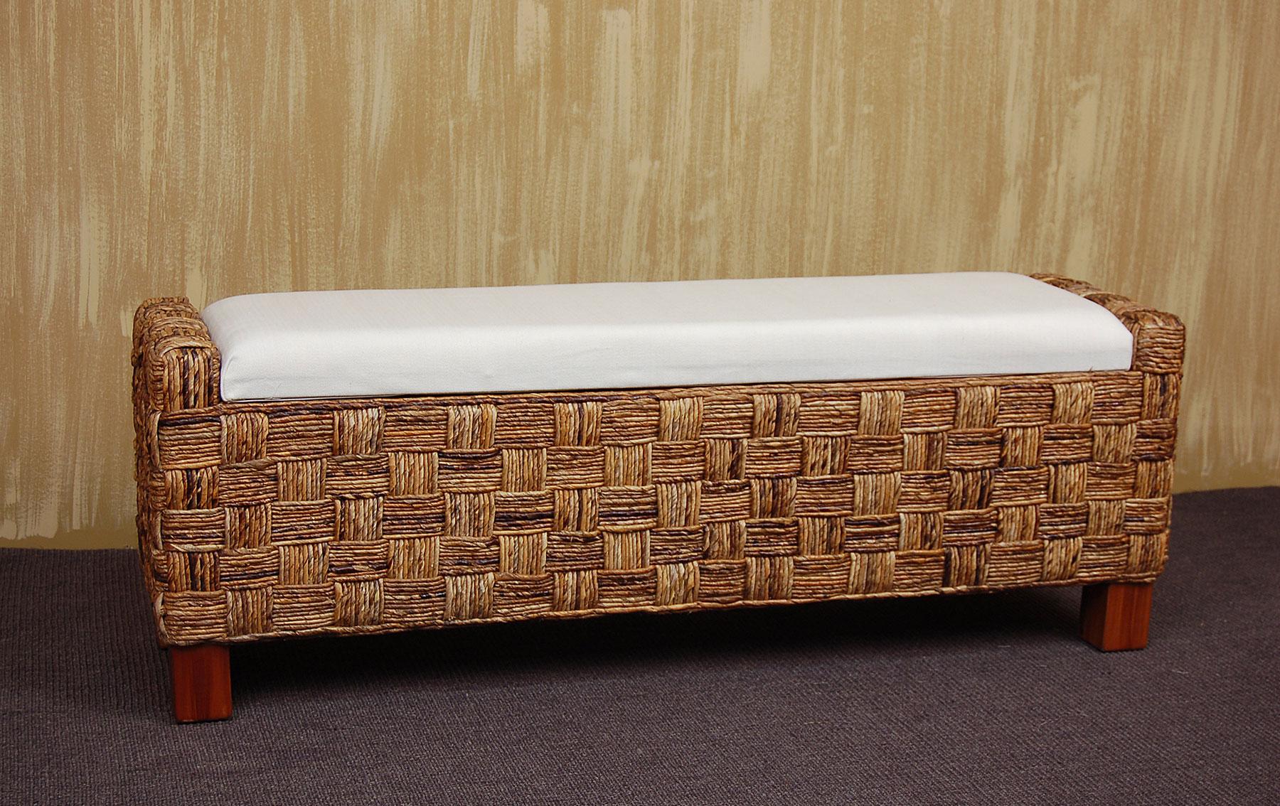 Pie de cama tapa abaca en - Muebles tapa tapa ...