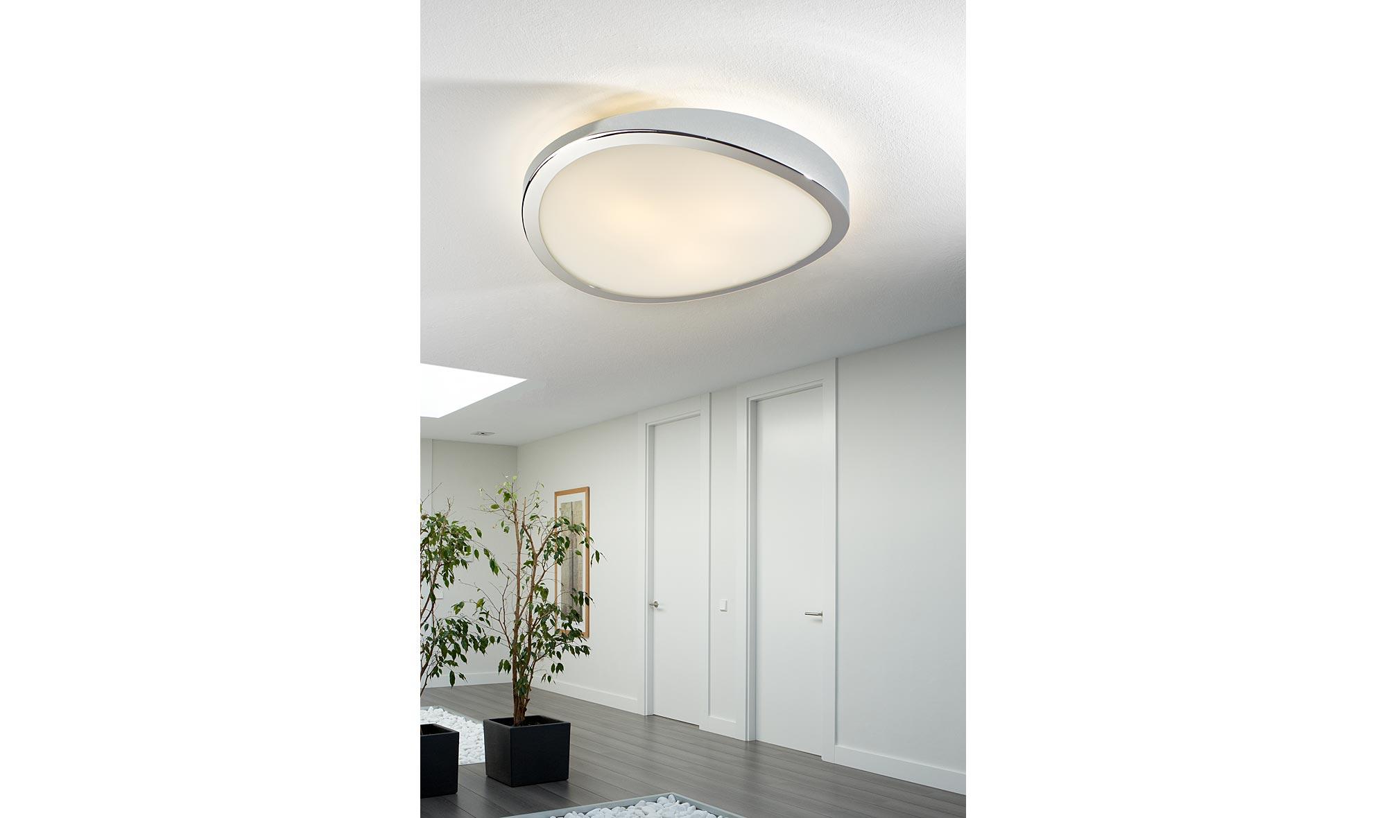 Muebles Martin Peñasco:  Plafón cromo Leda - Apliques y Plafones - Iluminación