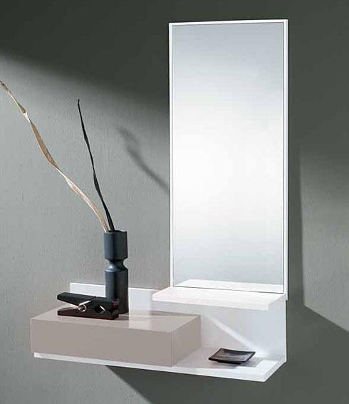 Recibidor moderno setew en - Espejos de diseno moderno ...