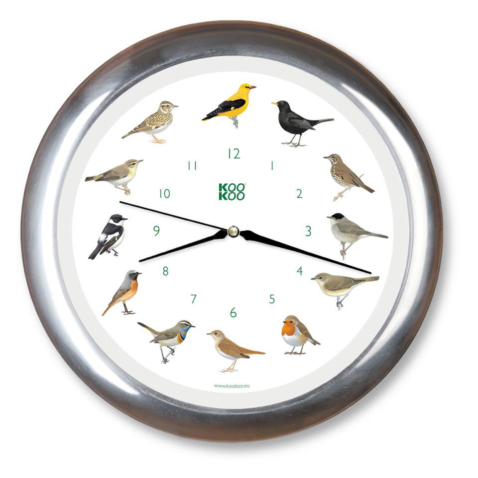 Reloj de pared aves cantoras no disponible en - Relojes de pared ...