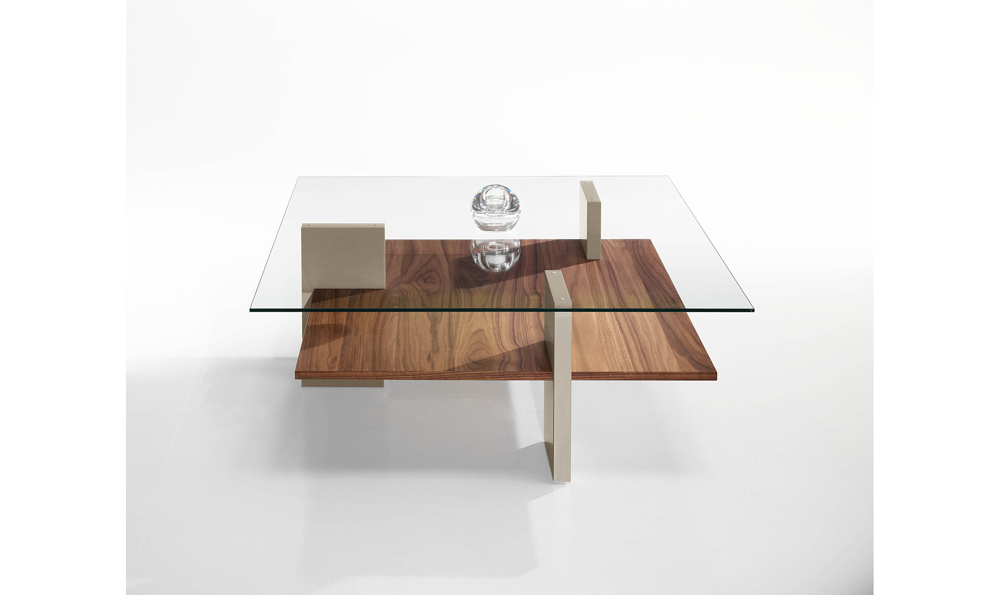 Mesa de centro moderna tapa de cristal no disponible en for Centro de mesa de cristal
