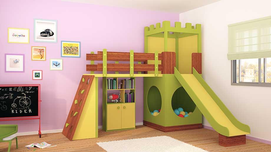 Muebles auxiliares infantiles y juveniles de lujo en for Muebles infantiles modernos
