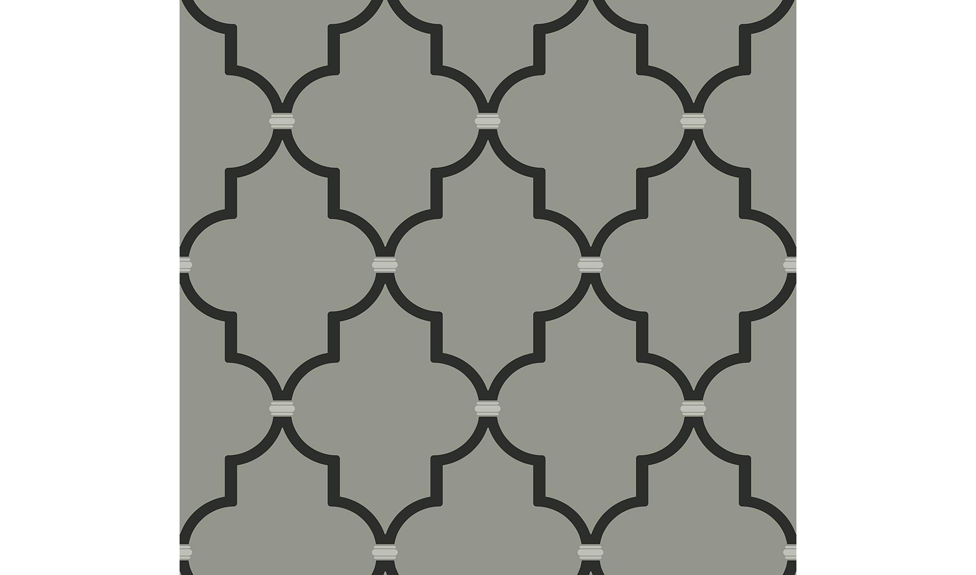 Rollo de papel pintado contraste geom trico en - Papel decorativo para muebles ...