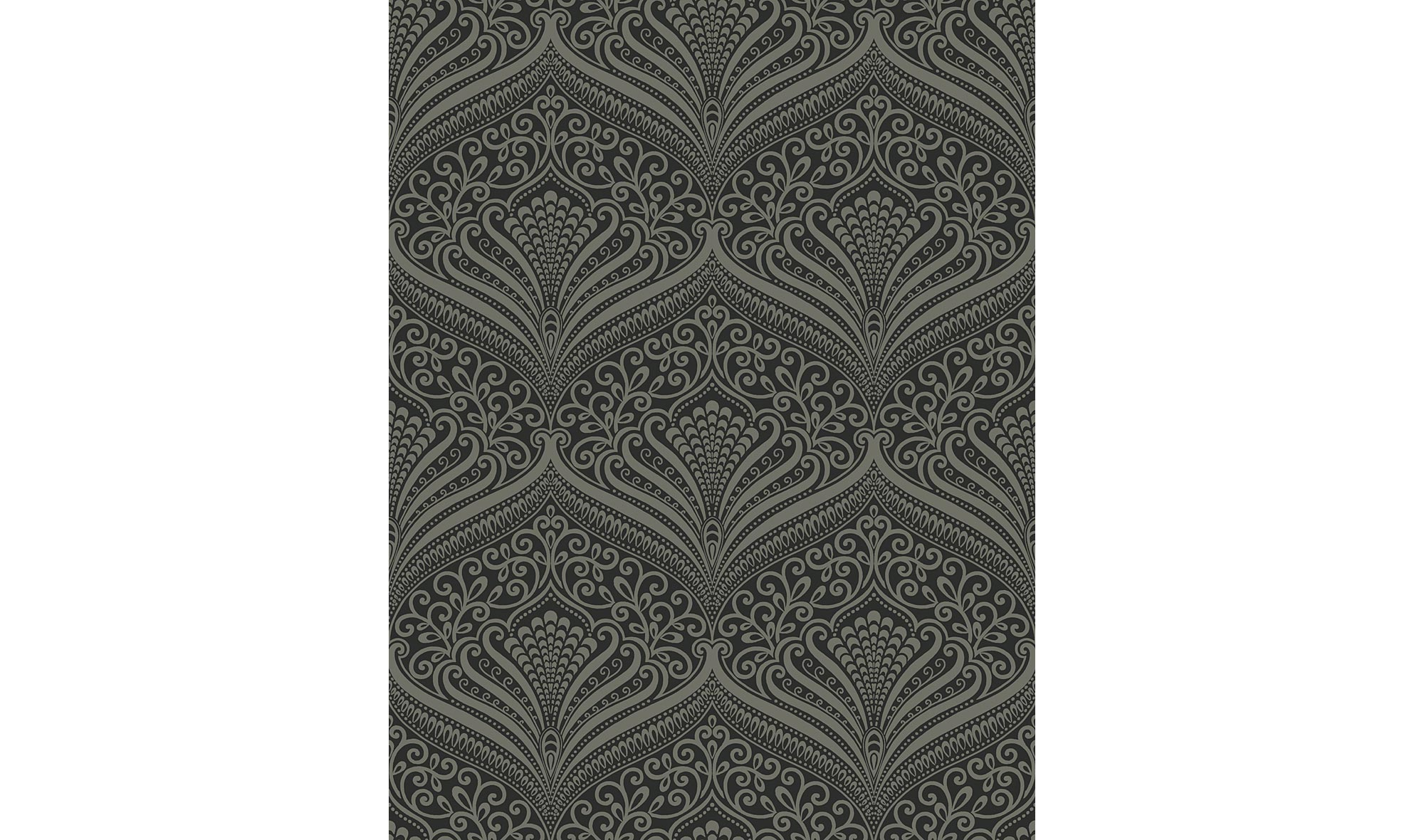 Rollo de papel pintado geom trico oscuro en - Papel pintado para muebles ...