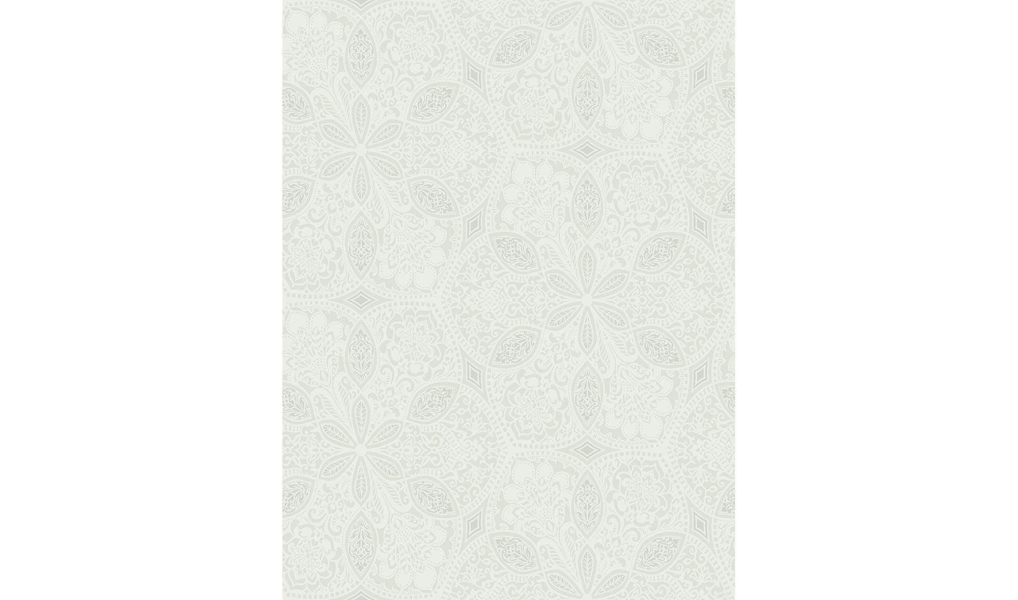Rollo de papel pintado motivo floral gris en for Papel pintado muebles
