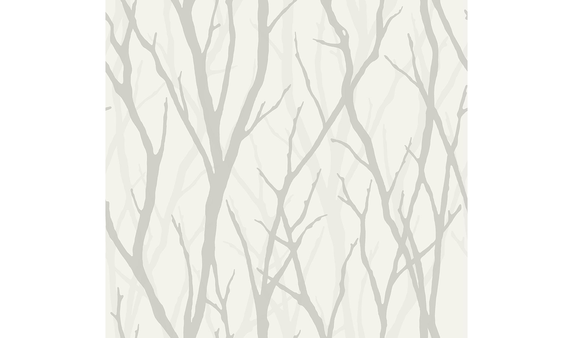 Rollo de papel pintado ramas claras en - Papel pintado en muebles ...