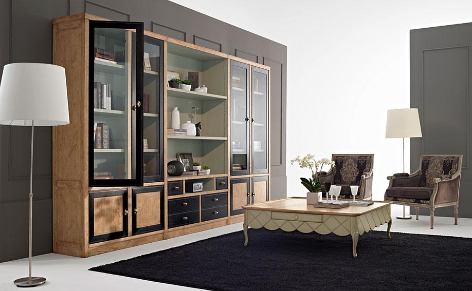 Sal n vintage eneida de lujo en tu tienda de muebles de lujo - Muebles clasicos salon ...