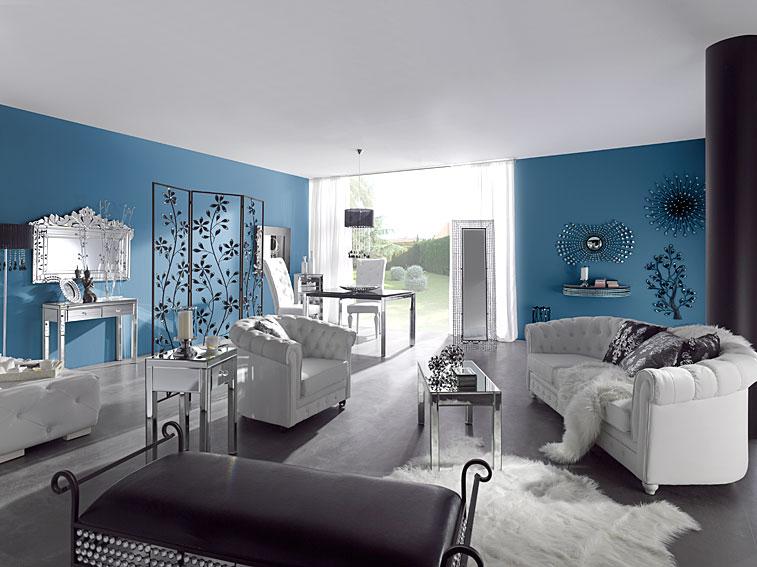 Muebles de salon vintage muebles de saln estilo shabby - Muebles salon vintage ...