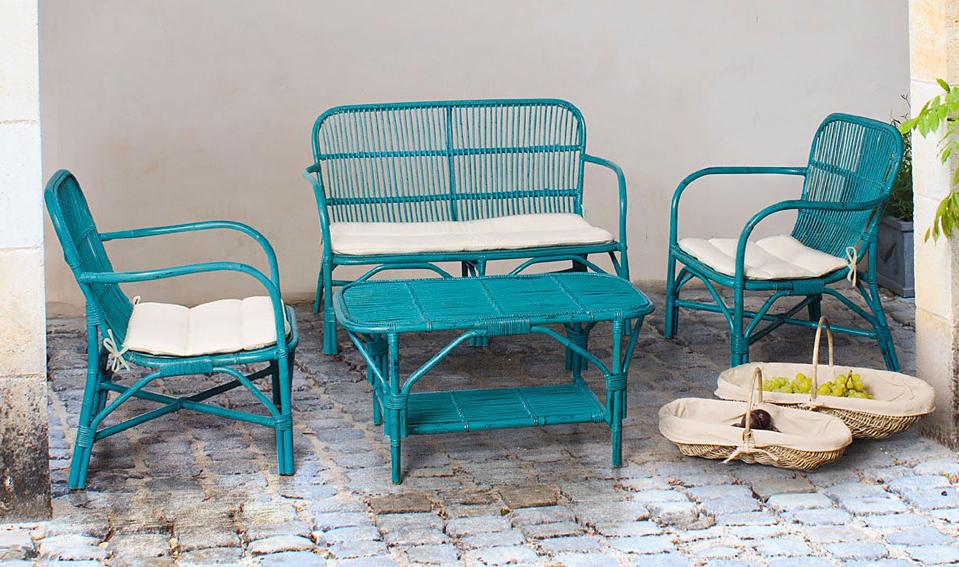 Tiendas de muebles de jardin: sillas y mesa de forja vintage ...