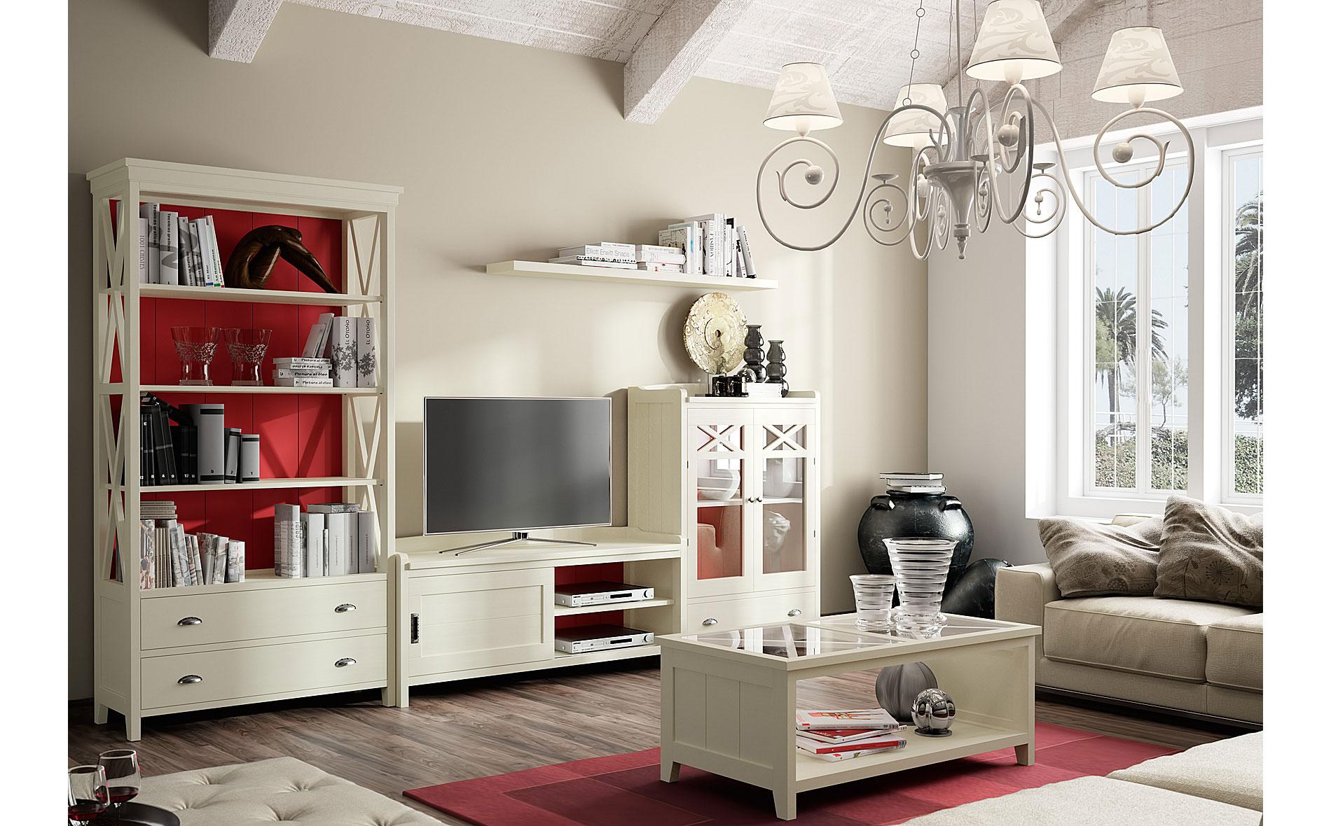 Sal n vintage provenzal frambuesa verona en for Decoracion muebles vintage
