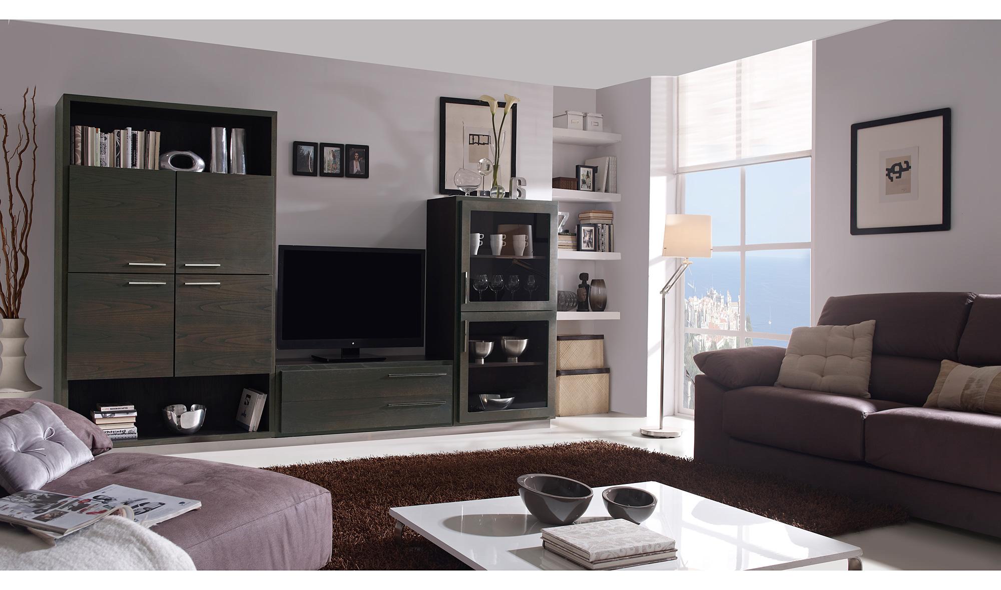 Sal n moderno volga black de lujo en - Portobello street muebles ...