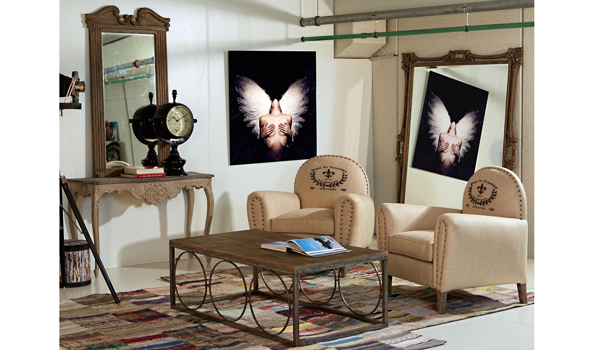 Sal n vintage beau en - Muebles salon vintage ...