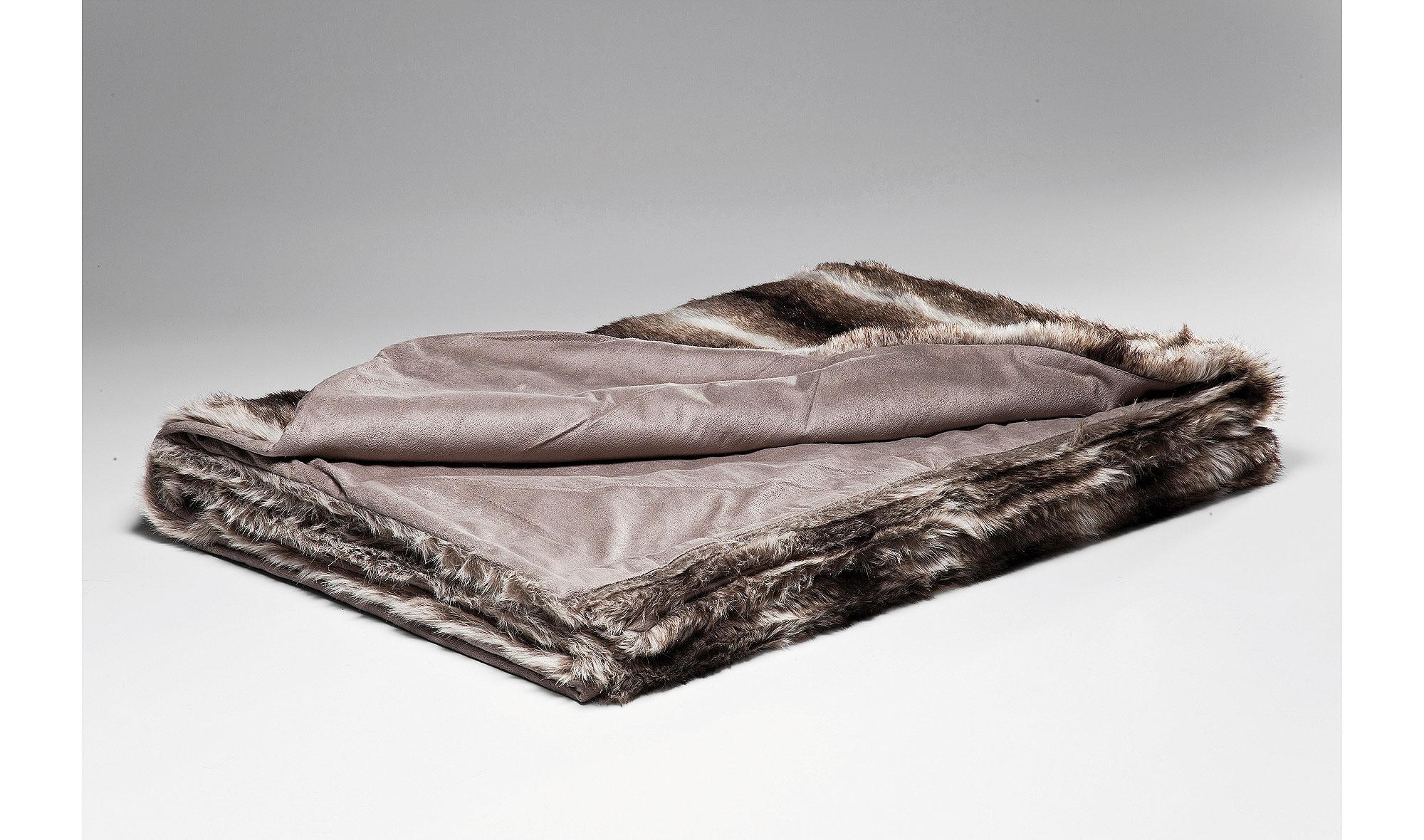 Set 2 mantas piel stripes 140x200 no disponible en - Mantas de piel ...