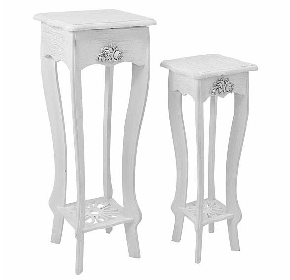 Muebles set 2 mesas auxiliares vintage for Mesas auxiliares vintage baratas