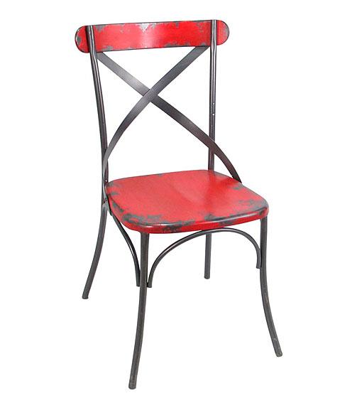 Set 2 sillas rojas yata no disponible en for Sillas rojas comedor