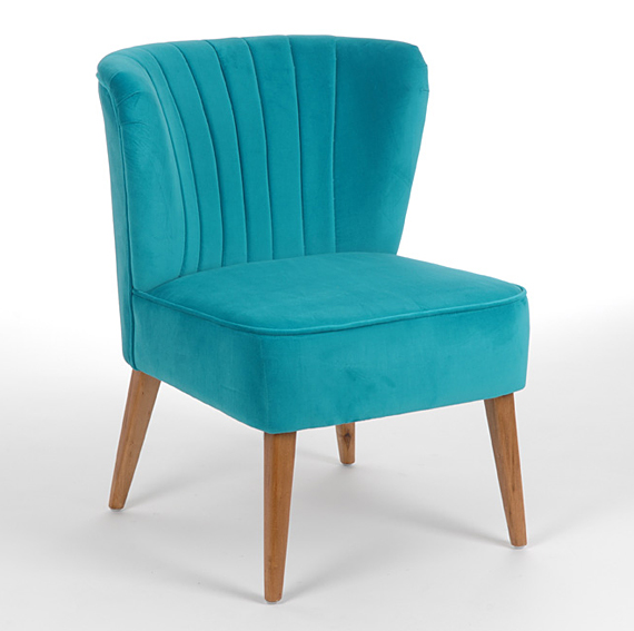 Set 2 sillas turquesa vintage totem no disponible en for Sillas comedor turquesa