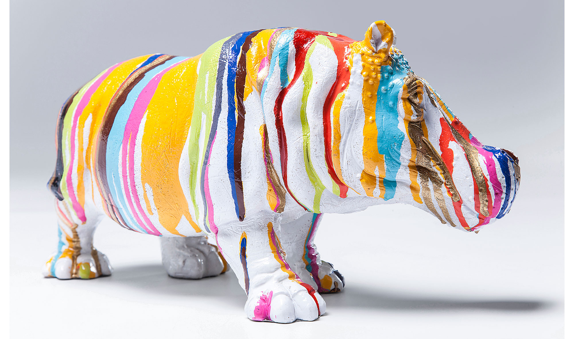 Set 2 Estatuillas Vintage Hipop Tamo No Disponible En  # Muebles Hipopotamo