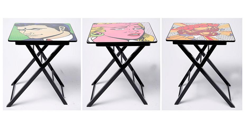 Set 6 mesas auxiliares surtidas no disponible en - Mesas auxiliares pequenas ...