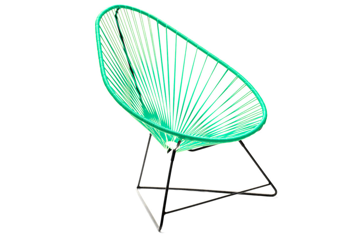 Silla acapulco verde turquesa no disponible en for Sillas comedor turquesa