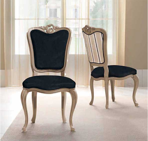 Silla vintage byblos ii en for Sillas clasicas modernas