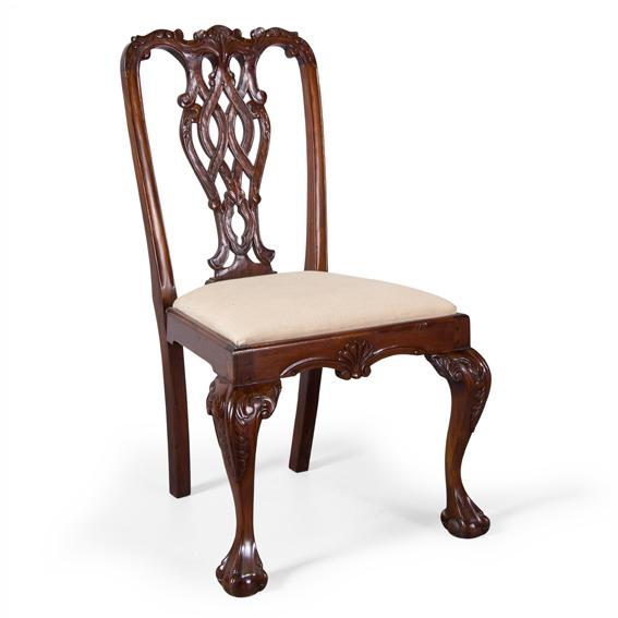 Silla cl sica chippendale stuart for Portobello muebles online