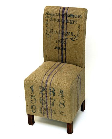 Muebles MC Interiores:  Silla Franjas - Sillas y Sillones Vintage - Muebles Vintage