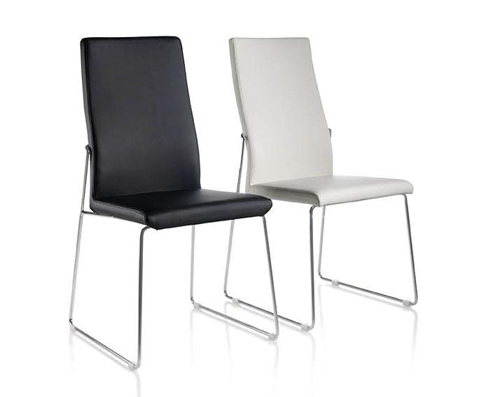 Silla moderna caprera en tu tienda for Imagenes de sillas tapizadas modernas