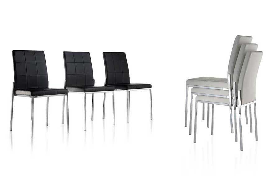 Silla moderna helio de lujo en tu for Imagenes de sillas tapizadas modernas