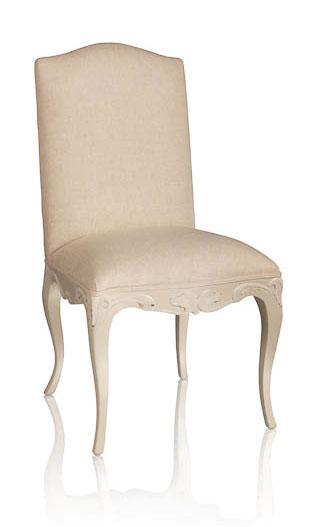 Silla tapizada la rochelle en for Muebles la silla