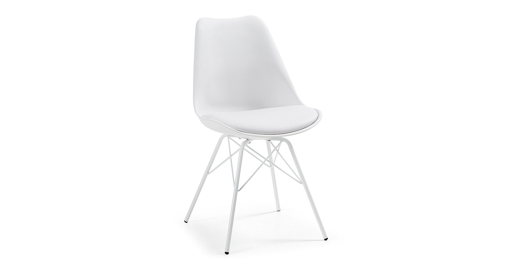 Sillas comedor blancas modernas sillas blancas de comedor for Sillas comedor tapizadas baratas