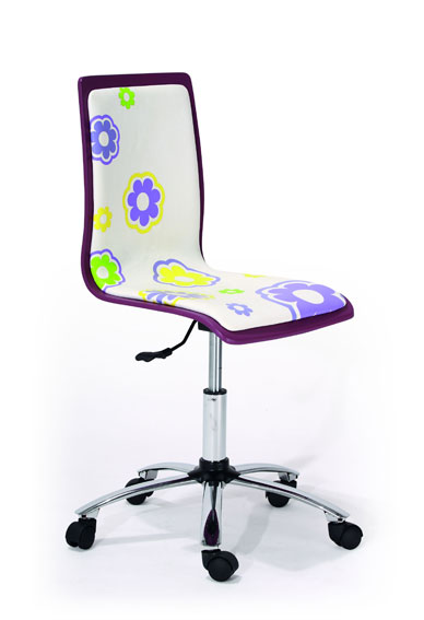 Silla de escritorio violeta equation en cosas de for Sillas infantiles escritorio