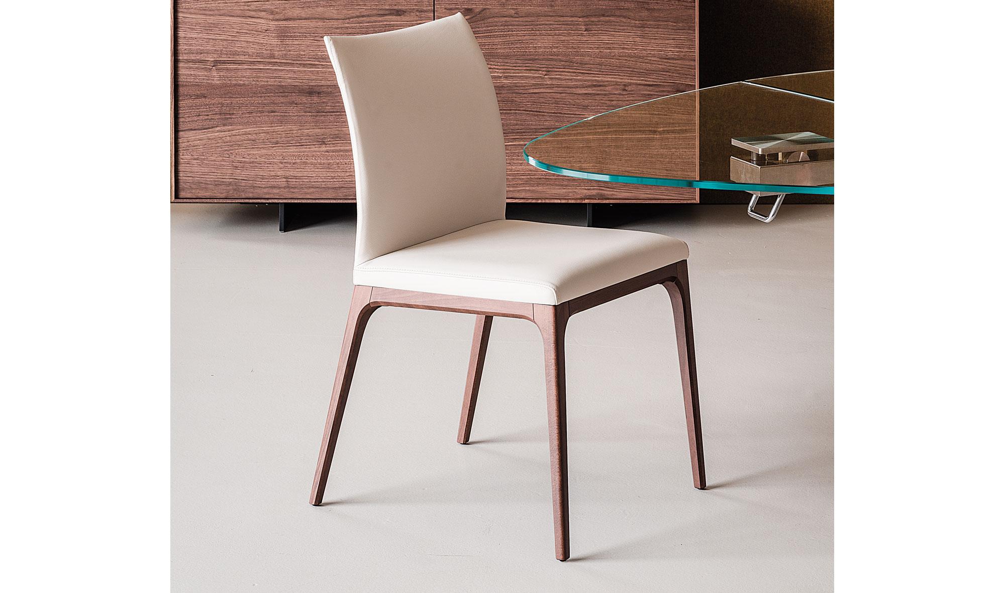 Silla moderna arcadia en for Sillas escritorio modernas