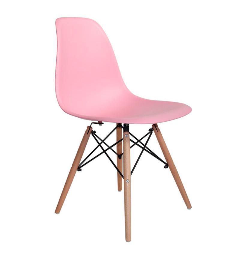 Silla moderna marco rosa palo en for Sillas escritorio modernas