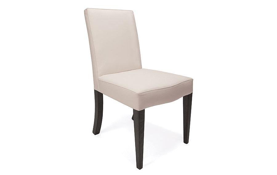Silla moderna tapizado blanco taiti en dec shop for Tapizados de sillas modernas